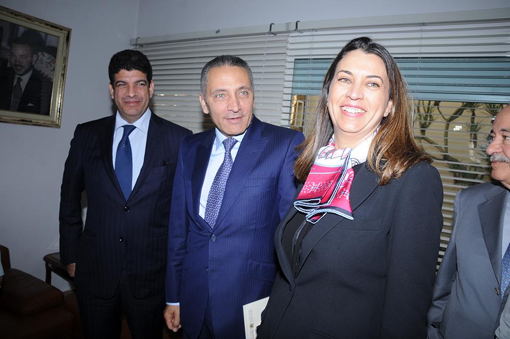 Mme-BIaz-M.-Mustapha-Bakkoury-et-Moulay-Hafid-Alami