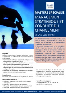 annonce M Management straetcond