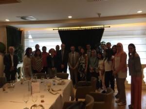 Photo 3 Avec Monsieur CHAMI Ambassadeur du Maroc auprès de l'EU